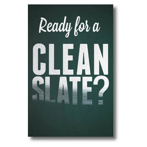 Clean Slate Church Postcards