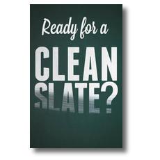 Clean Slate Postcard