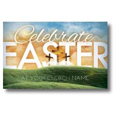 Easter Landscape Postcard
