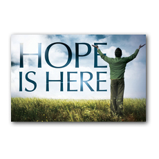 Hope is Here Postcard