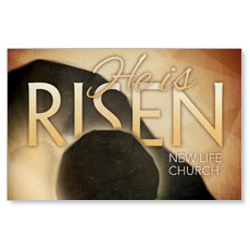 Risen Gold Postcard