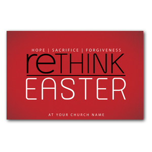 Rethink Easter Postcards