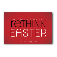 Rethink Easter Postcard
