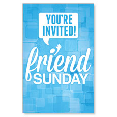 Friend Sunday Postcard