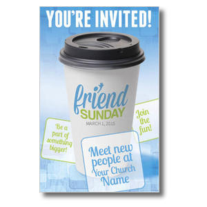 Friend Sunday Coffee 4/4 ImpactCards