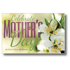 Celebrate Mother's Day Postcard