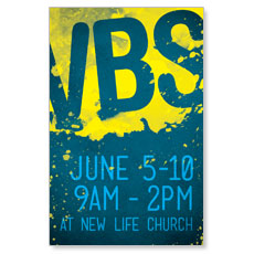 VBS Paint Postcard