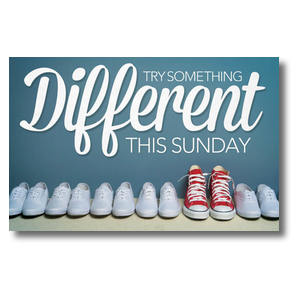 Different Shoes Postcards