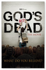 Gods Not Dead Postcards