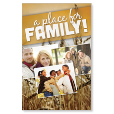 A Place for Family Fall Postcard