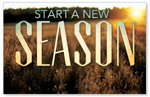 New Season Fall Postcards