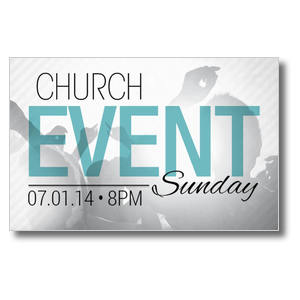 Church Event Card Postcards