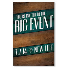 Big Event Postcard