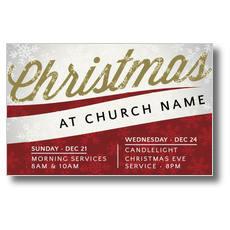 Christmas Events Postcard