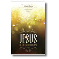 Jesus True Light Postcard