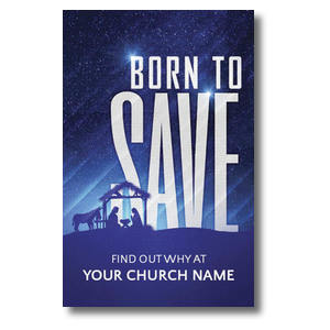 Born To Save Postcards