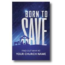 Born To Save Postcard