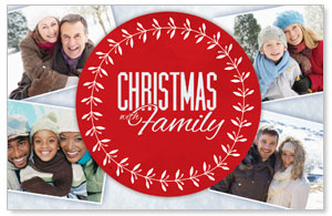 Christmas Family Postcards