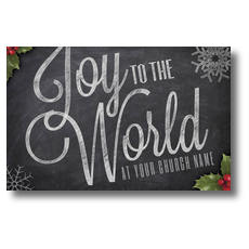 Chalk Joy Postcard