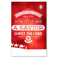 Luke 2 Christmas Postcard