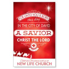 Luke 2 Christmas Postcard
