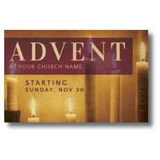 Advent At Postcard