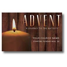 Journey To Nativity Postcard