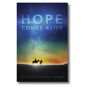 Hope Comes Alive Church Postcards