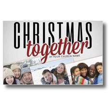 Christmas Together Postcard