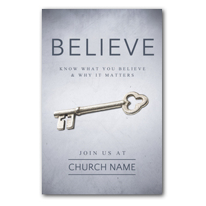 Believe Now Live the Story Postcards