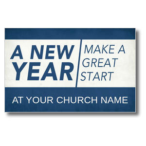 New Year Change Postcards