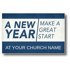 New Year Change Postcard
