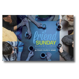 Overhead Belong Friend Sunday Postcards