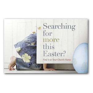 Easter Searching Church Postcards