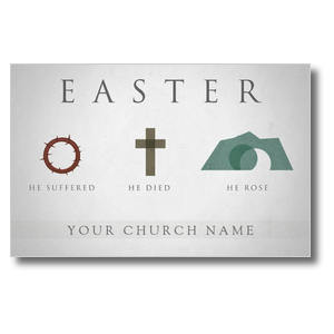 Easter Icons Church Postcards