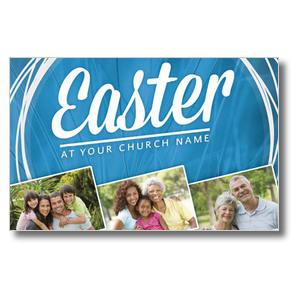 Easter People Postcards