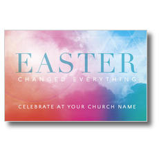 Easter Color Postcard