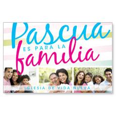 Pascua Familia Postcard
