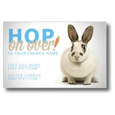 Hop on Over Postcard