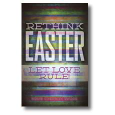 Let Love Rule Postcard