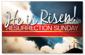 Risen Resurrection Postcards
