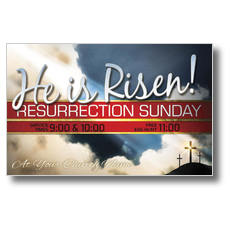 Risen Resurrection Postcard