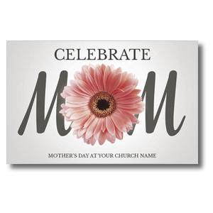 Mom Flower Postcards