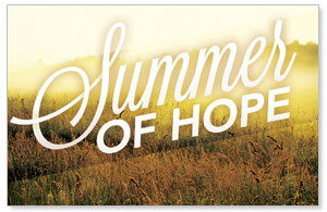 Summer of Hope Postcards