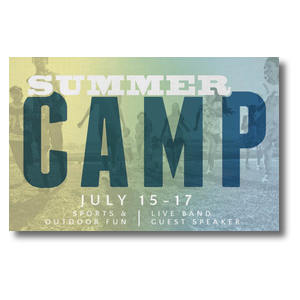 Summer Camp Postcards