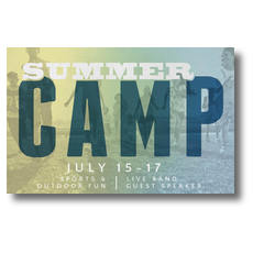 Summer Camp Postcard