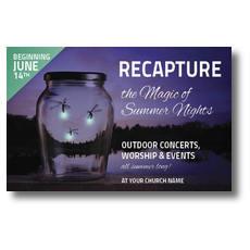 Recapture the Magic Postcard