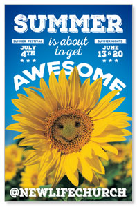 Summer is Awesome 4/4 ImpactCards