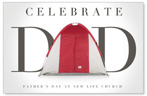 Tent Dad Postcards