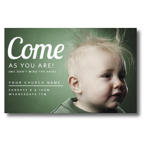 Baby Bed Head Postcards
